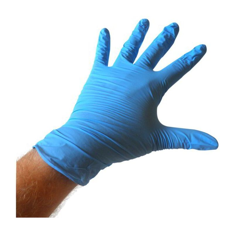 Nitril medical gloves, size L