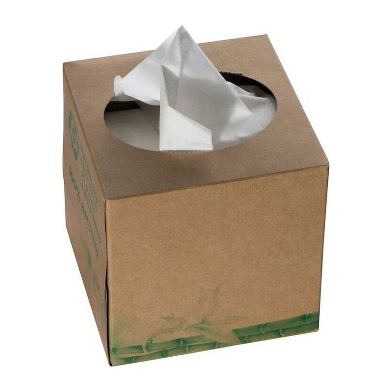 Tissuebox with 60 three-ply tissues