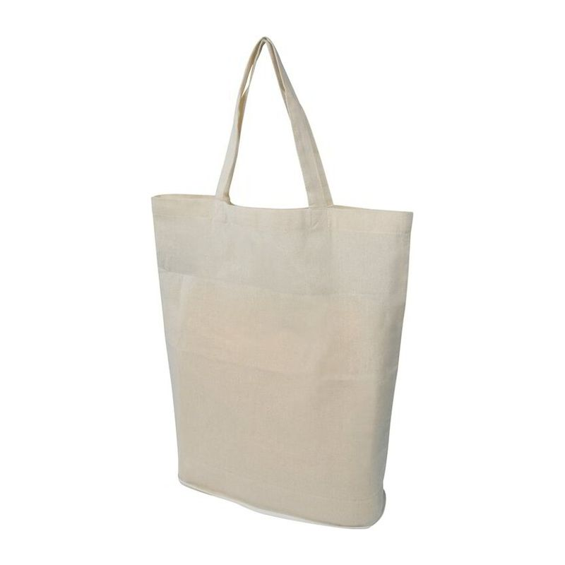 Foldable shopping bag in cotton