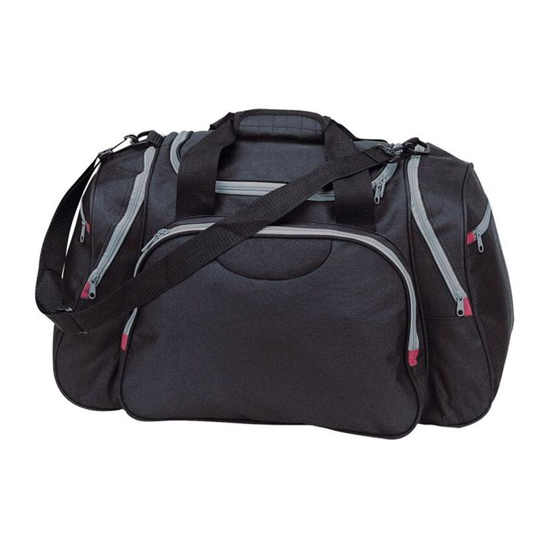 Polyester travel and sports bag