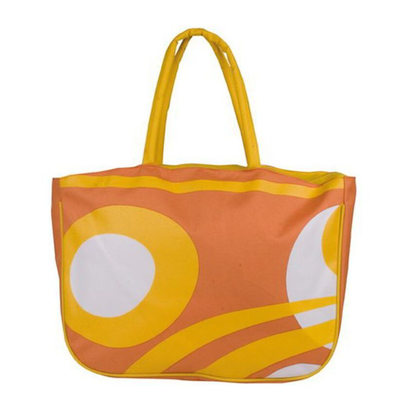 Beachbag with zipper made from
