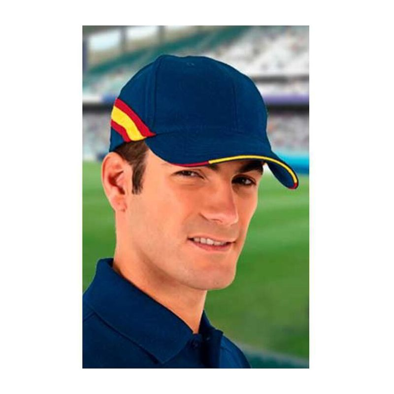 Cap Furia ORION NAVY BLUE-LOTTO RED LEMON YELLOW Adult