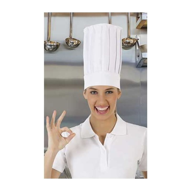 Chef Hat Cordon WHITE Adult