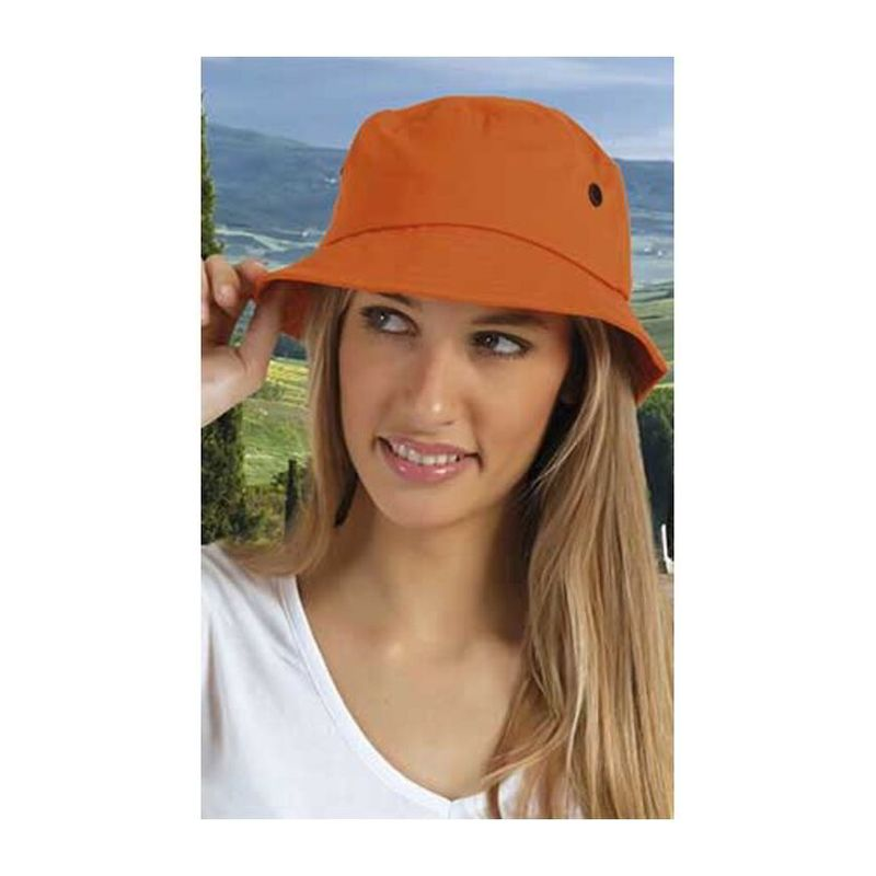 Hat Summer PARTY ORANGE Adult