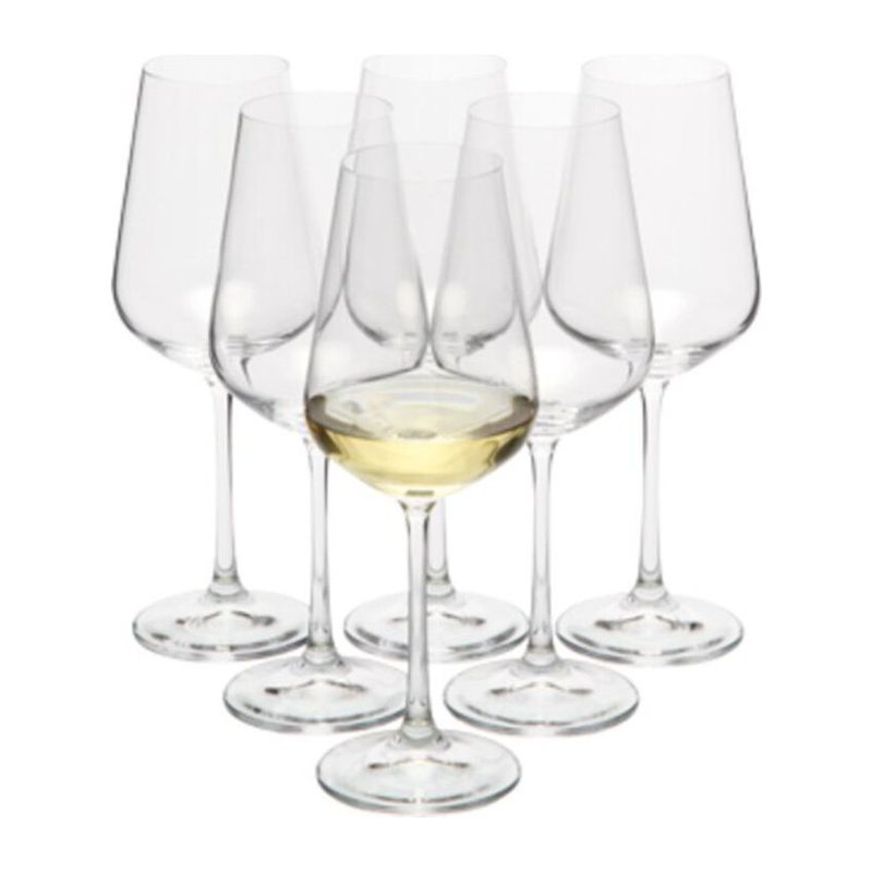 MORETON White wine glasses 6