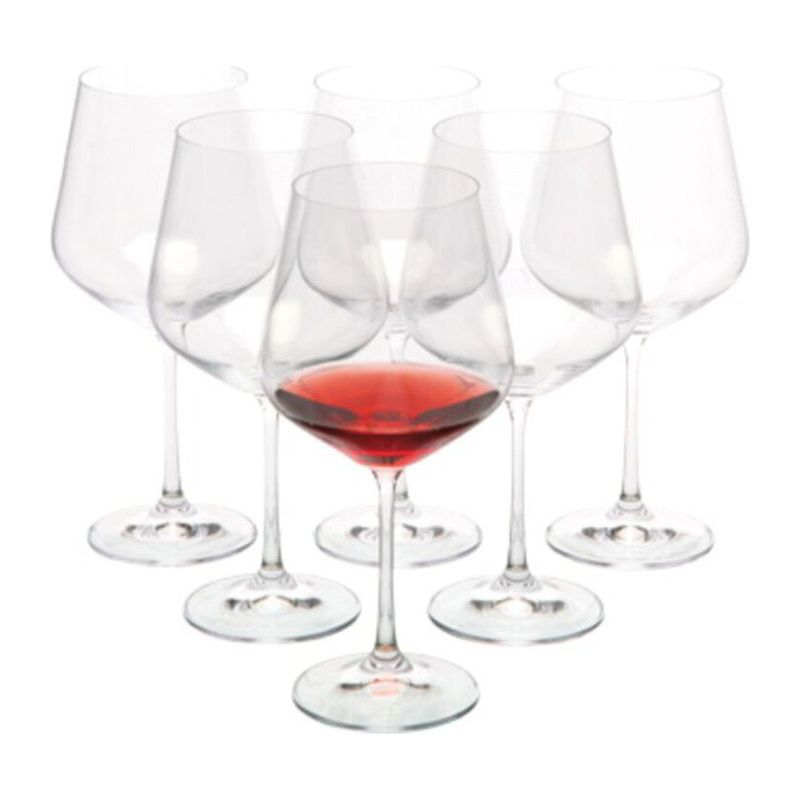 WANAKA Red wine glasses 6 pcs