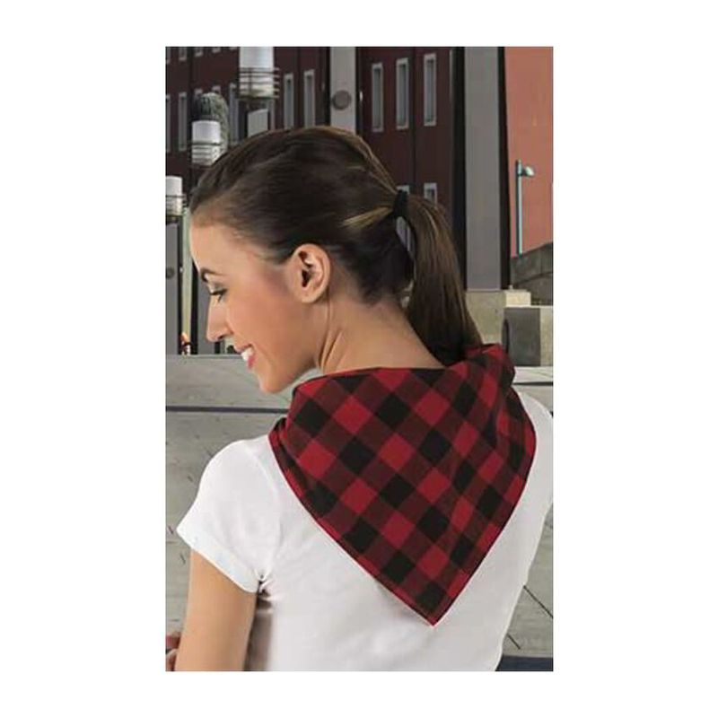 Handkerchief Cachirulo LOTTO RED-BLACK Adult